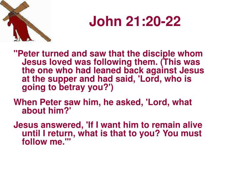John 21 20 22