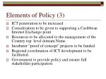 elements of policy 3