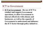 ict in government