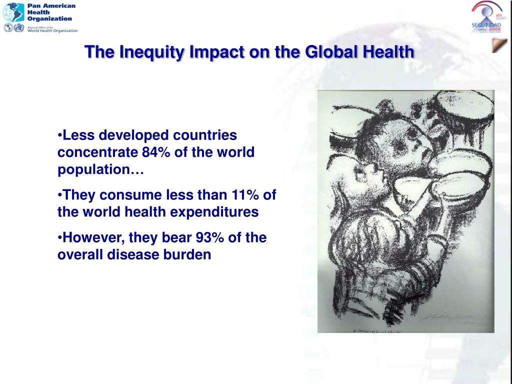 The Inequity Impact on the Global Health