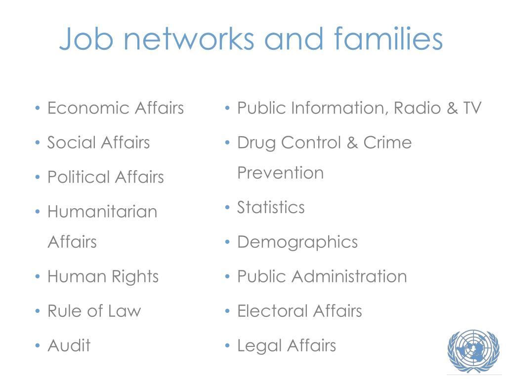 Job networks and families