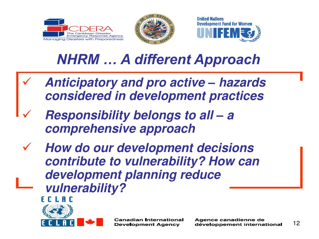 NHRM … A different Approach
