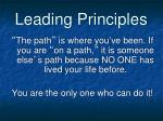 leading principles3