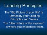 leading principles5