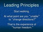 leading principles6