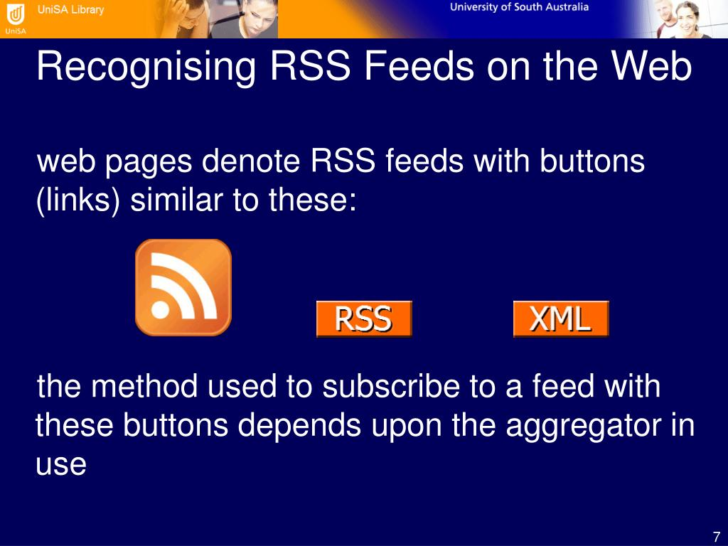 Recognising RSS Feeds on the Web