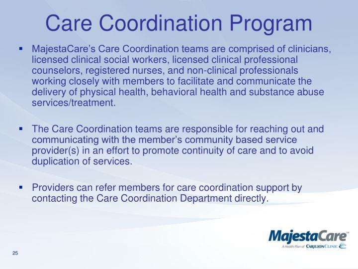 Care Coordination Program