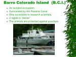 barro colorado island b c i