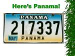here s panama