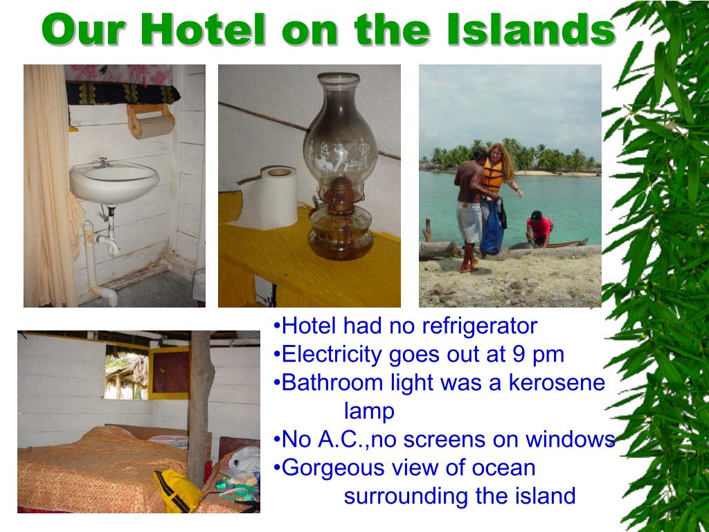 Our Hotel on the Islands
