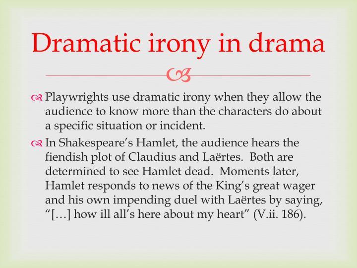 Dramatic irony in drama