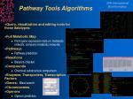 pathway tools algorithms