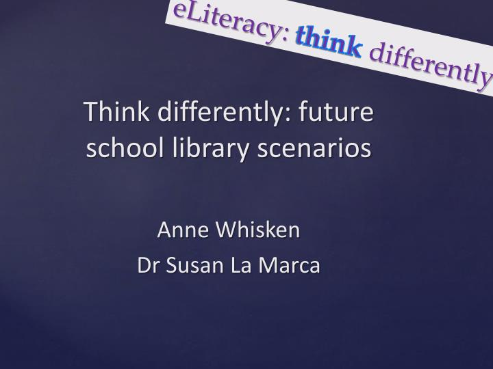 eliteracy think differently n.