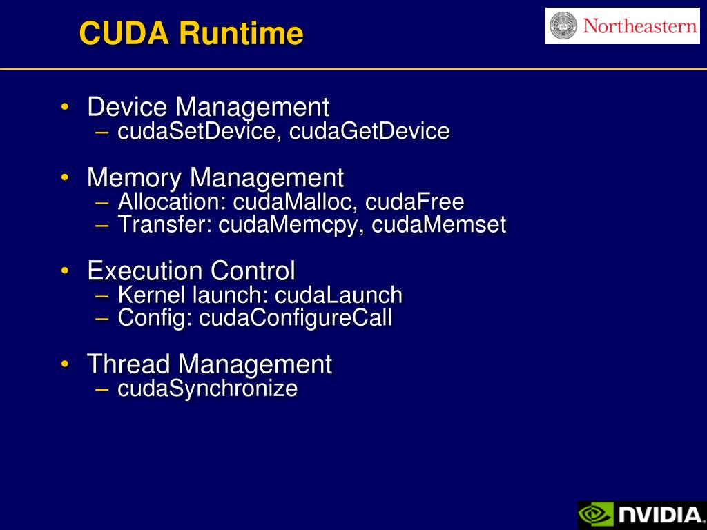 CUDA Runtime
