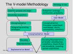 the v model methodology