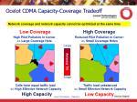 ocelot cdma capacity coverage tradeoff