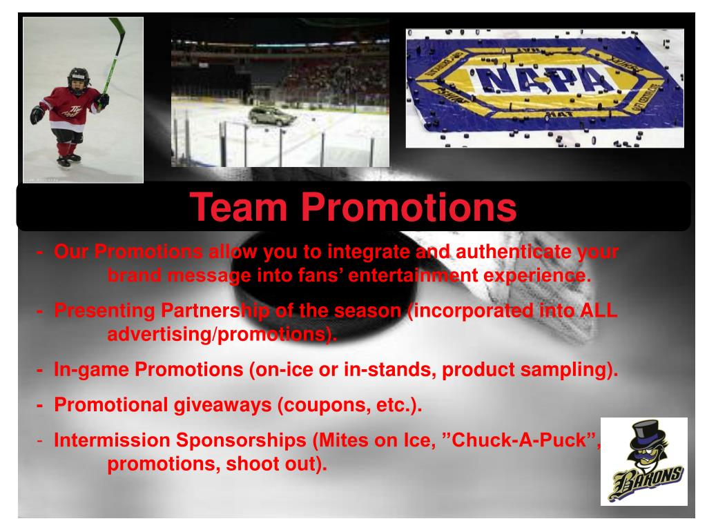 Team Promotions