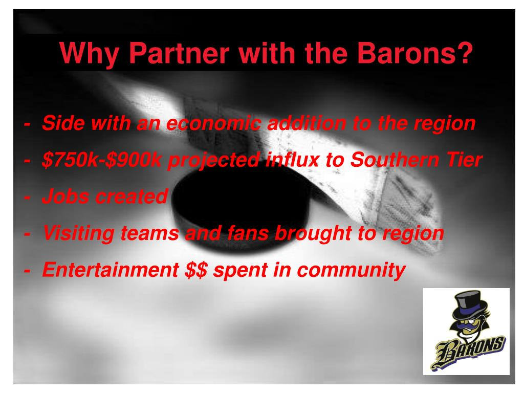 Why Partner with the Barons?