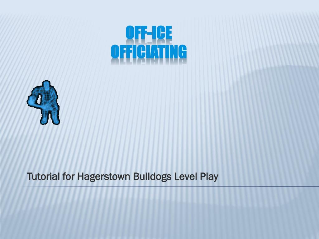 tutorial for hagerstown bulldogs level play l.