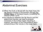 abdominal exercises40
