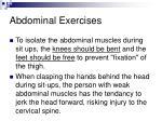 abdominal exercises41