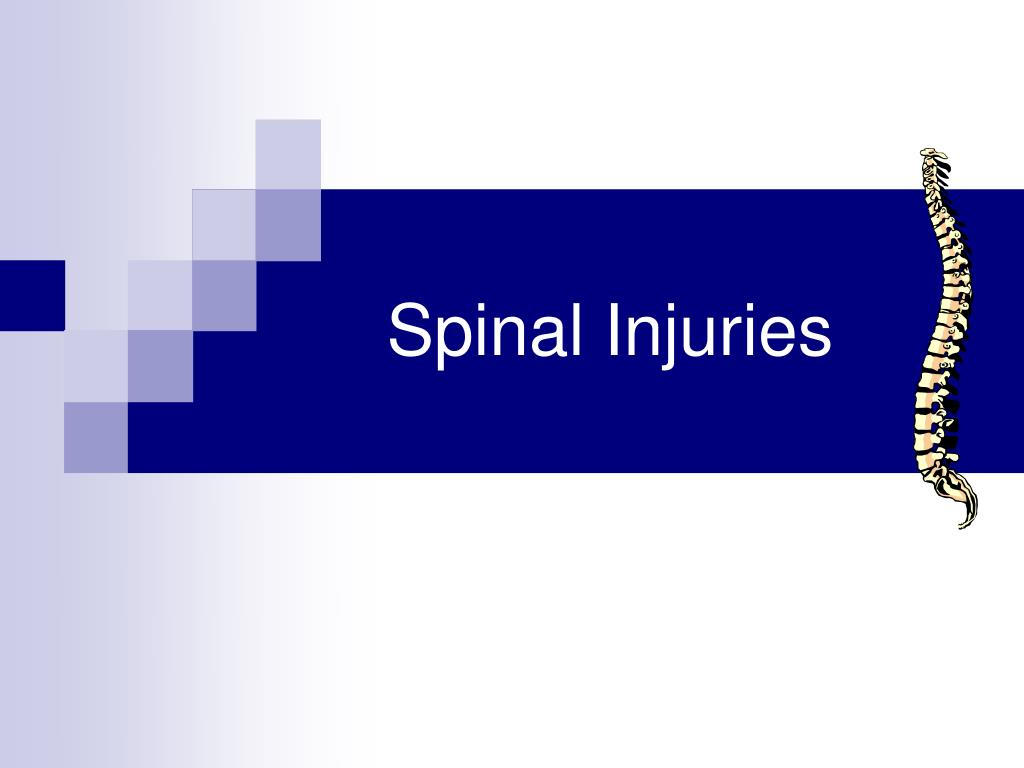 spinal injuries l.