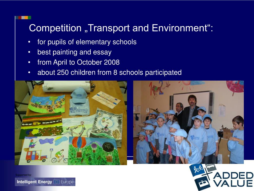 """Competition """"Transport and Environment"""":"""
