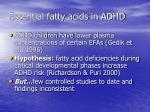 essential fatty acids in adhd1