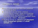 herbals in adhd