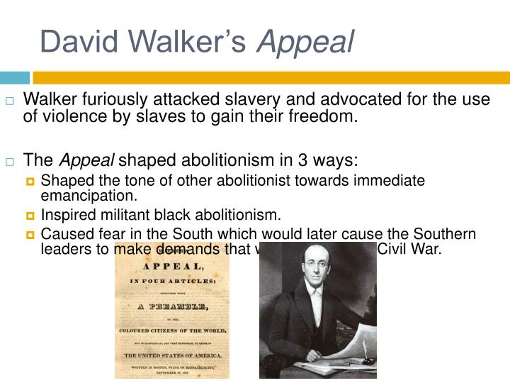 an overview of david walkers appeals
