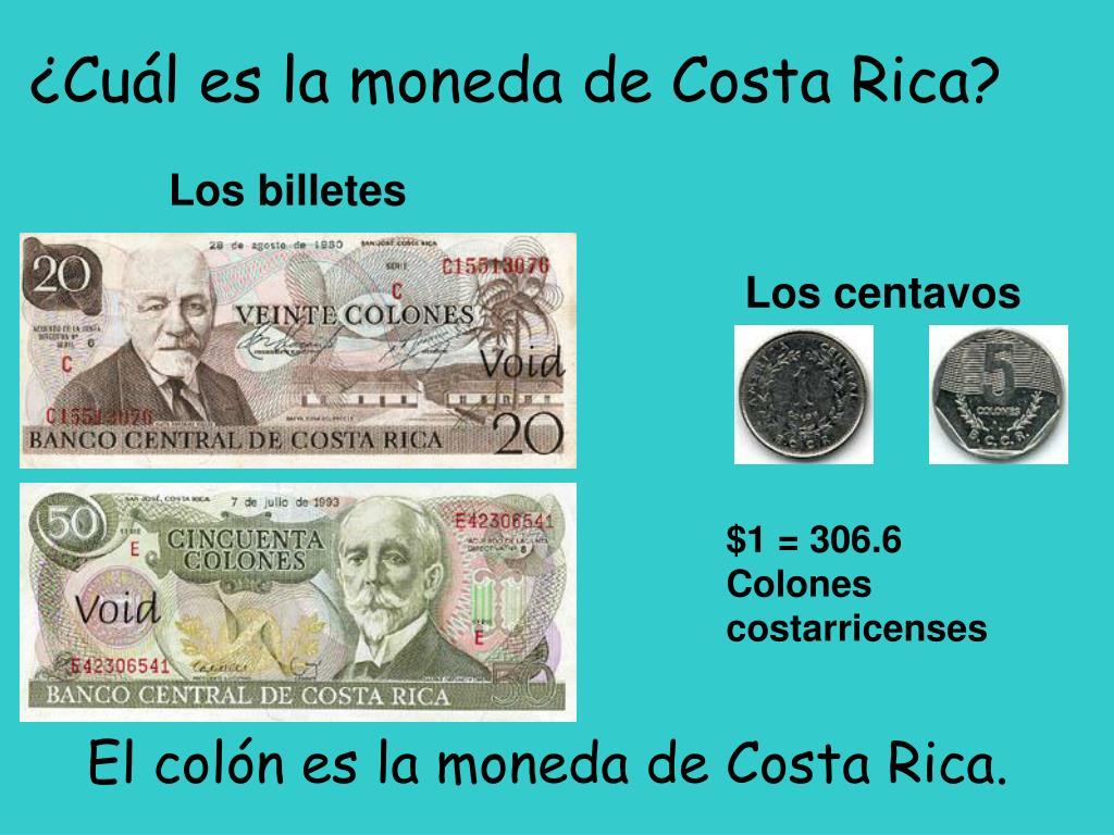 ¿Cuál es la moneda de Costa Rica?