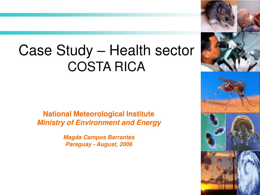 Case Study – Health sector