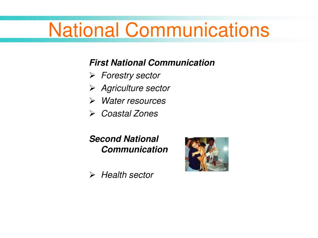 First National Communication