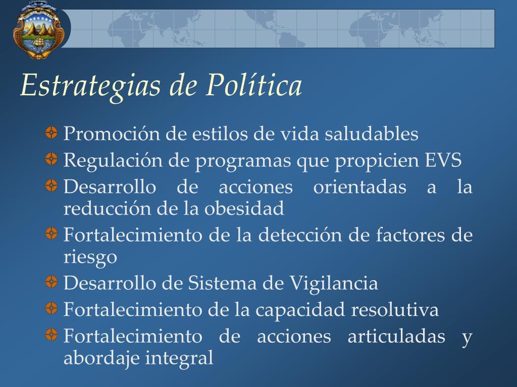 Estrategias de Política