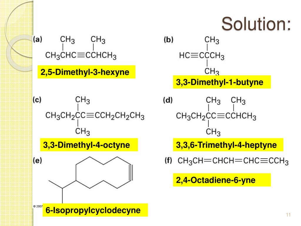 Ppt 9 Alkynes An Introduction To Organic Synthesis