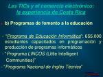 las tics y el comercio electr nico la experiencia de costa rica28