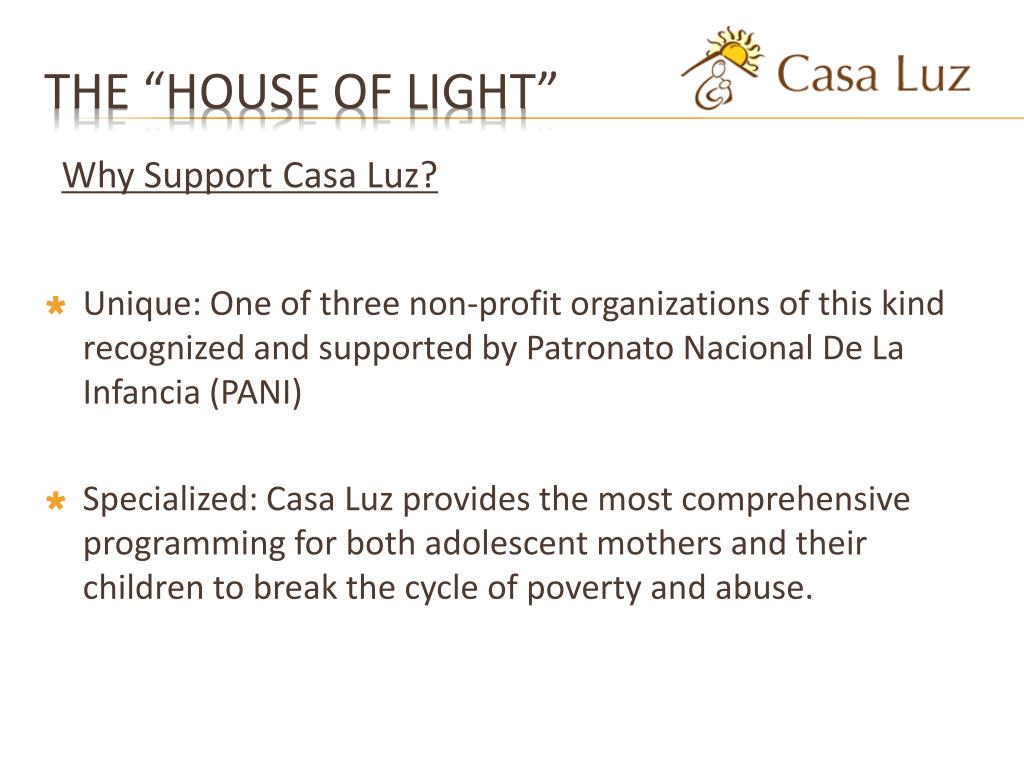 "The ""House of Light"""