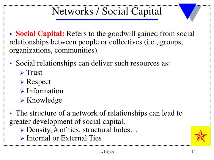 Networks / Social Capital