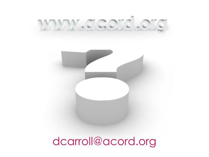 dcarroll@acord.org