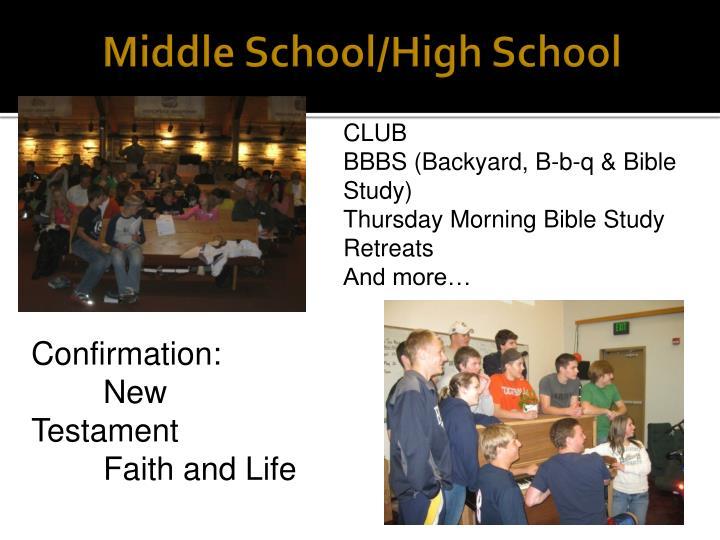 Middle School/High School