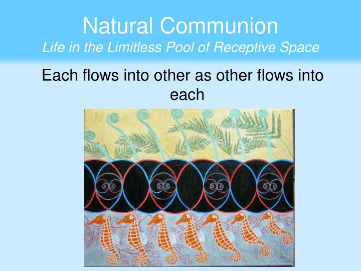 Natural Communion