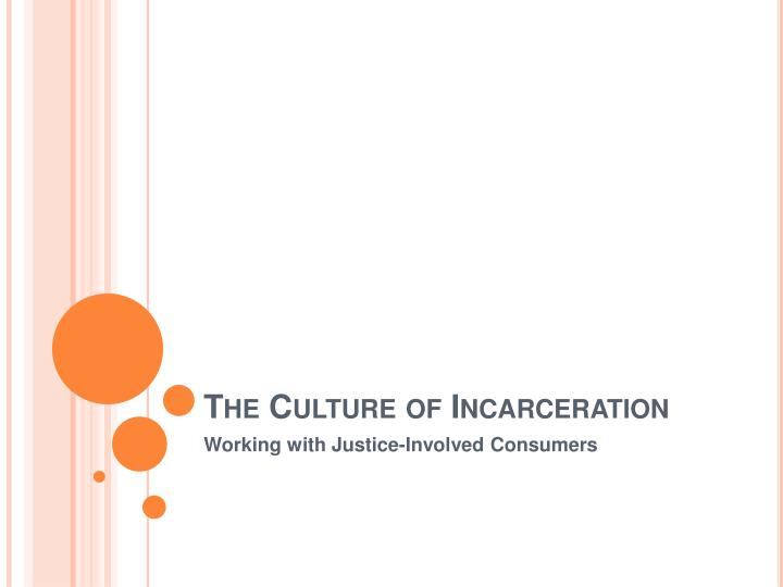 the culture of incarceration n.