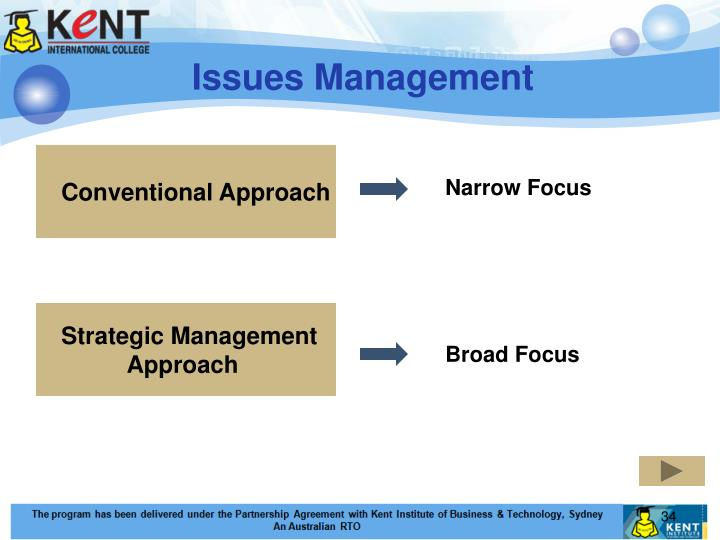 Conventional Approach