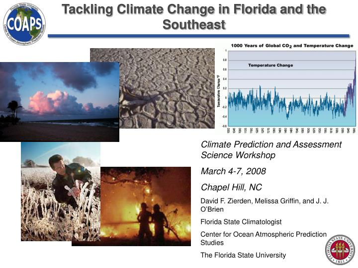 tackling climate change in florida and the southeast n.