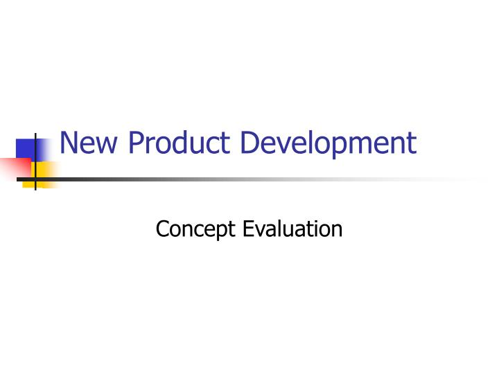 new product development n.