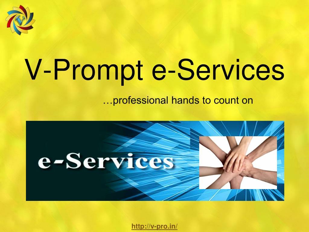 v prompt e services l.