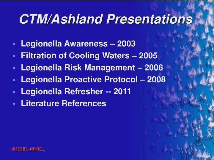 Ctm ashland presentations