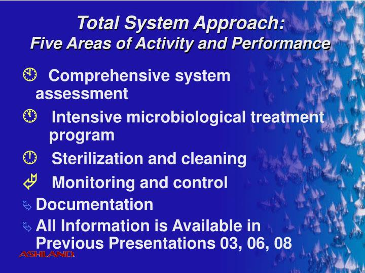 Total System Approach: