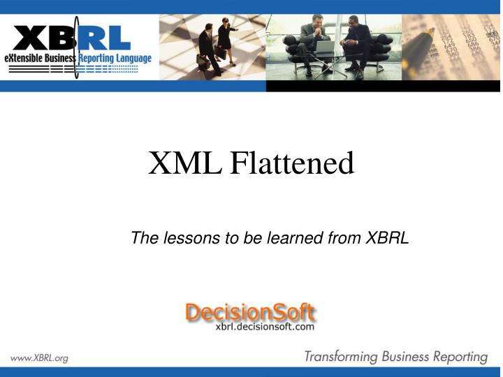 the lessons to be learned from xbrl n.
