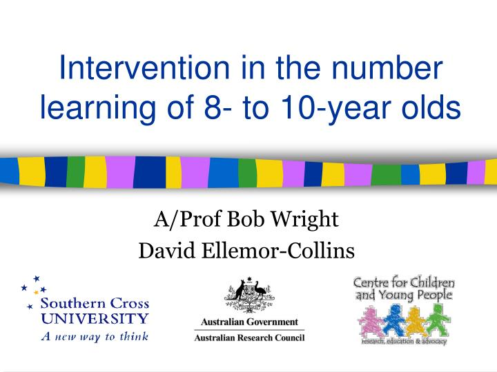 intervention in the number learning of 8 to 10 year olds n.
